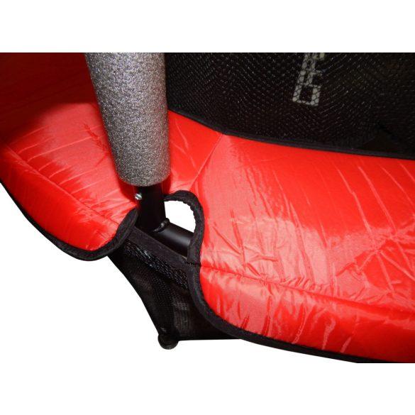 Capetan® Kiddy Jump 140cm trambulin védőhálóval és alsó biztonsági védőszoknyával,