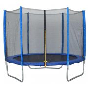 Capetan® Exit 244cm átm  védőhálós trambulin - kisgyermekekre optimalizált