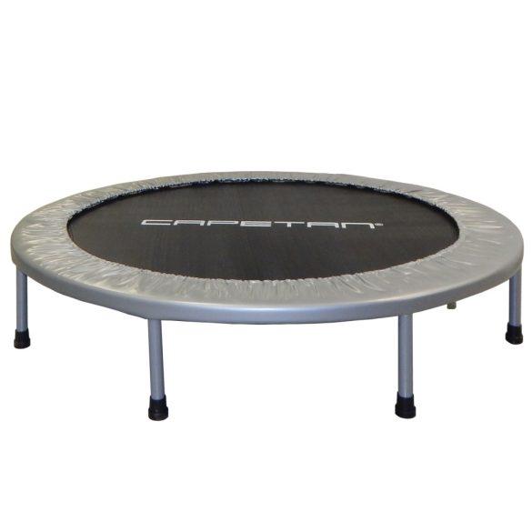 Capetan® Fit Fly Silver 122cm szobai trambulin, 100 kg terhelhetőség,