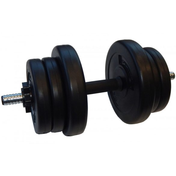 Capetan® Sport 10Kg egykezes bővíthető súlyzószett vynil tárcsákkal, 25mm átm