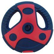 Capetan® Dual Tone 1,25 Kg műanyag súlytárcsa cement töltettel piros