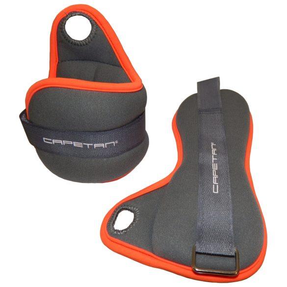 Capetan® Csukló és bokasúly 2x2Kg pár, hüvelykujj beakasztófüllel