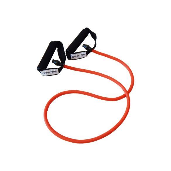 Capetan® Elasztikus fitnesz tube - gumikötél - puha habos markolattal