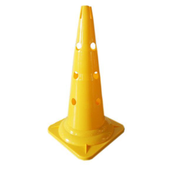 Capetan® 50cm magas sárga színű bója bottartó bevágással  a