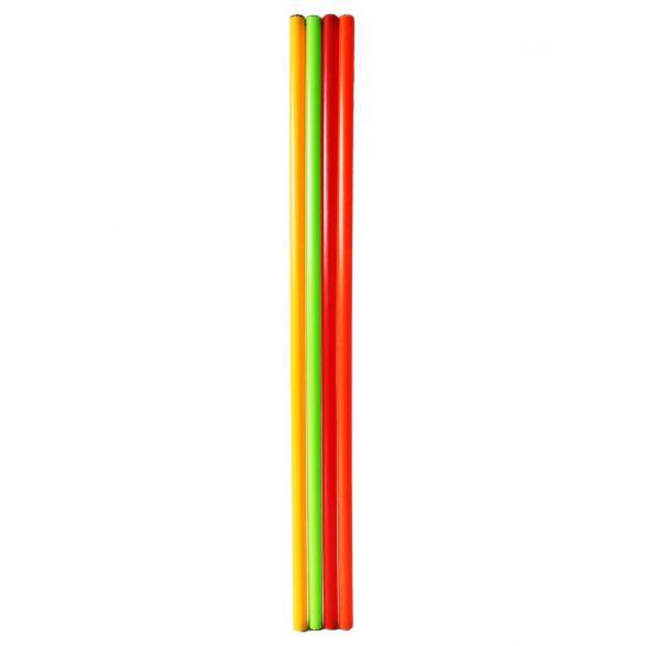 Capetan® 100cm hosszú egyensúlyozó rúd 4db-os szett, sárga, zöld, narancs,