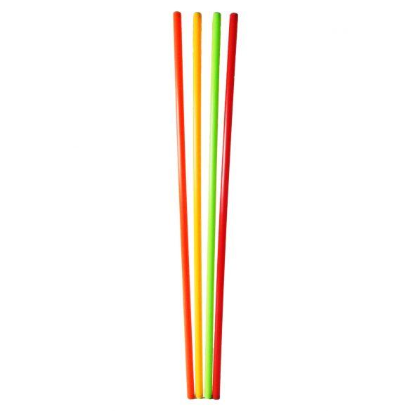 Capetan® 120cm hosszú egyensúlyozó rúd 4db-os szett, sárga, zöld, narancs,