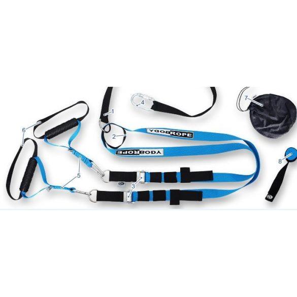Multitréner funkcionális kötél hevederes tréning, Bodyrope Sport edzőheveder