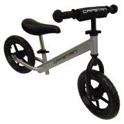 """Capetan® Energy Shadow Line Ezüst színű 12"""" kerekű futóbicikli - pedál nélküli gyermekbicikli"""