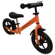"""Capetan® Energy Plus Narancs színű 12"""" kerekű futóbicikli sárhányóval és csengővel - pedál nélküli gyermekbicikli"""
