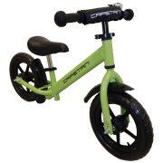 """Capetan® Energy Plus Zöld színű 12"""" kerekű futóbicikli sárhányóval és csengővel - pedál nélküli gyermekbicikli"""