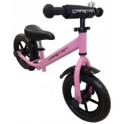 """Capetan® Energy Plus Pink színű 12"""" kerekű futóbicikli sárhányóval és"""