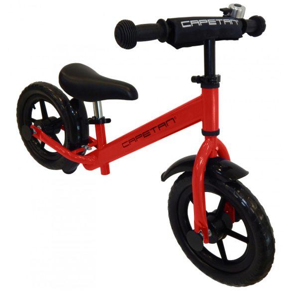 """Capetan® Energy Plus Piros színű 12"""" kerekű futóbicikli sárhányóval és"""