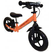 """Capetan® Neptun Narancs színű fékkel ellátott 12"""" kerekű futóbicikli sárhányóval"""