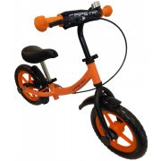 """Capetan® Sirius Premium Line Narancs színű, fékkel ellátott 12"""" kerekű futóbicikli sárhányóval és csengővel - pedál nélküli gyermekbicikli"""