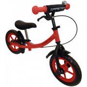 """Capetan® Sirius Premium Line Piros színű, fékkel ellátott 12"""" kerekű futóbicikli sárhányóval és csengővel - pedál nélküli gyermekbicikli"""