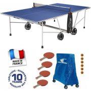 Cornilleau Crossover 100 outdoor kék kültéri időjárásálló ping pong asztal