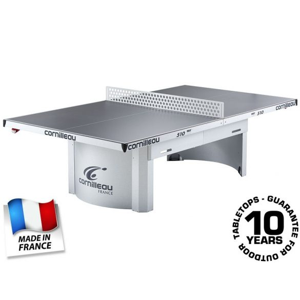 Cornilleau Pro 510 Mat Top Outdoor kültéri közösségi pingpong asztal