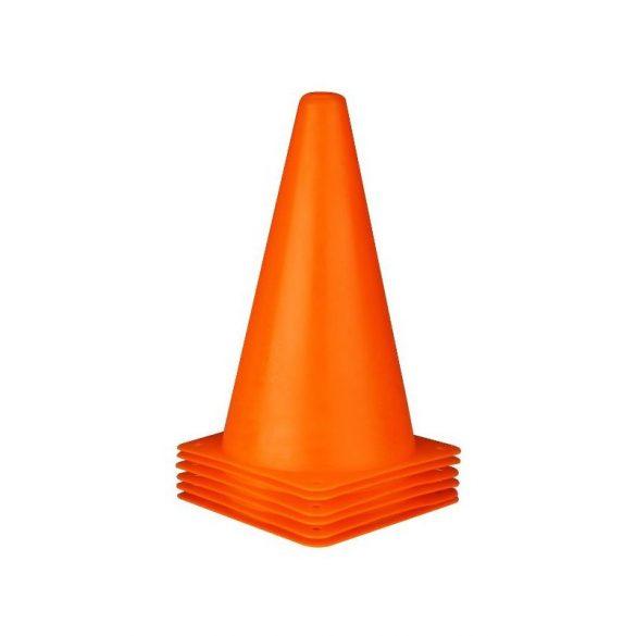 Tactic Sport Labdarúgó bója 23 cm, (semi-flexibilis) ruganyos, Narancs szín