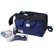 Elsősegély nyújtó orvosi táska , felszereléssel, sporttáska kivitel 38x24x24 cm