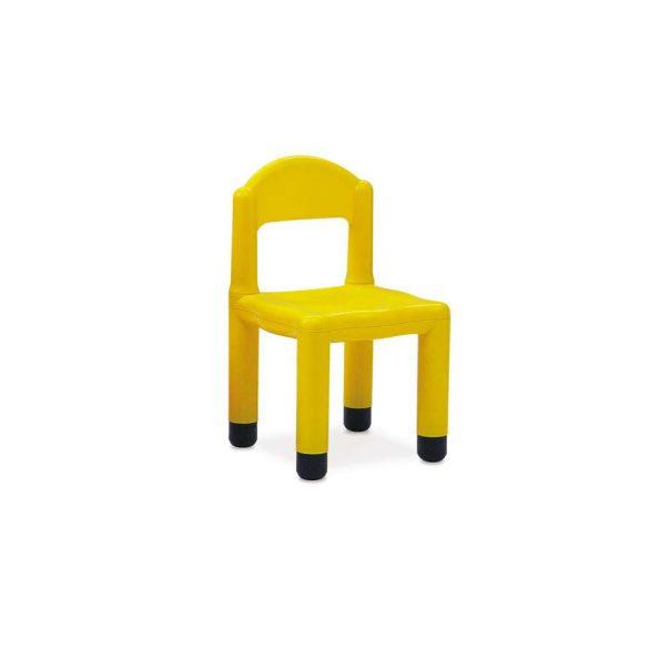 Műanyag óvodai szék, color bútorcsalád