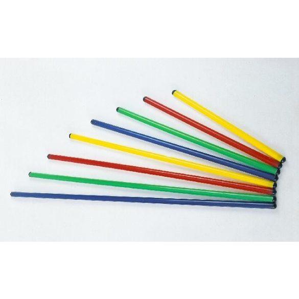 Tornabot 120cm-es műanyag 4 színben, 25mm átmérővel , psychomotorikus szettekhez