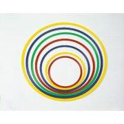 Tornakarika,lapos, flexibilis 40cm-es átmérővel, vegyes színben, pszichomotorikus szettekbe és bój