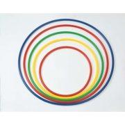 Kerek műanyag tornakarika formatartó merev falú kivitel 70 cm átmérő