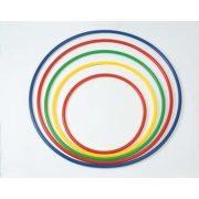 Kerek műanyag tornakarika formatartó merev falú kivitel 80 cm átmérő
