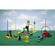Aktív játék pszichomotorikus mozgáspark E mozgásfejlesztő készlet