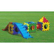 Cubic Toy E Model dupla házikós csúszda