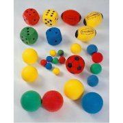 Szivacslabda 12cm-es különböző színekben