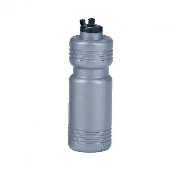 Ezüst színű kulacs 1 liter. sport kulacs