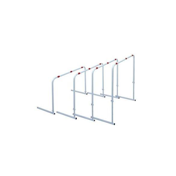 Állítható gát szett 60-70-80-90 cm közötti magasság állítás, fém szerkezet