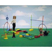 Aktív játék pszichomotorikus mozgáspark D mozgásfejlesztő készlet