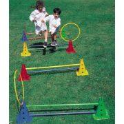 Tactic Sport Aktív játék mozgásfejlesztő eszközpark Saltarello Maxi 50 cm magas kerekaljú lukas bójákkal