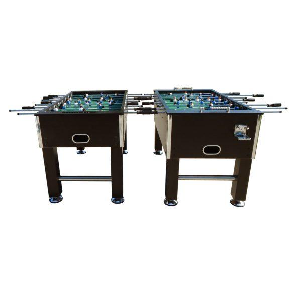 Capetan® Kick 400 extra erős asztalifoci asztal felnőtt csocsóasztal, wenge