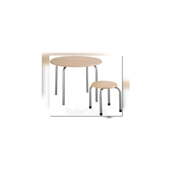 Fém lábú gyermek asztal, 52 cm magas