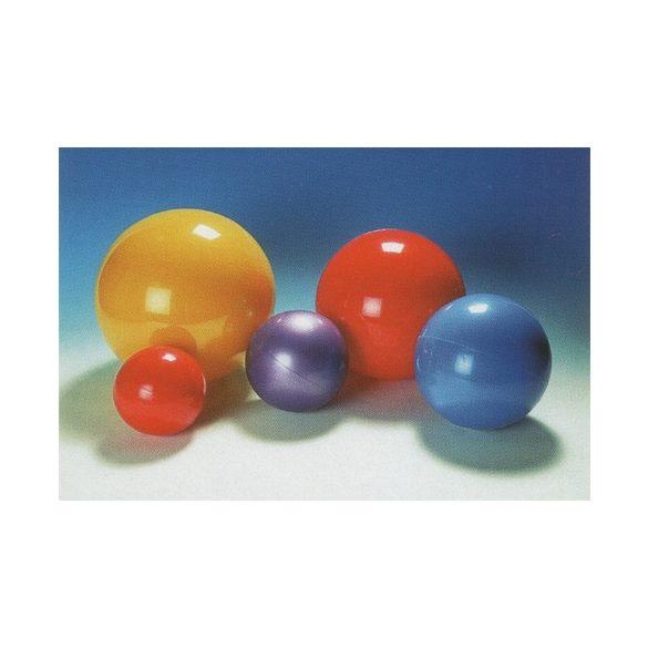 Natúr játéklabda 22 cm vegyes színekben