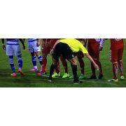 Football pályajelölő spray bírói alapkészlet, XXL spray (105 ml) rögzítő csiptetővel - a játékvezetés újdonsága
