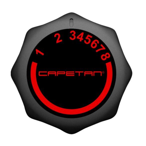 Capetan® Fit Line X3.1 Szobakerékpár 6Kg lendkerékkel pulzusmérővel tablet tartóval, 110Kg terhelhetőséggel