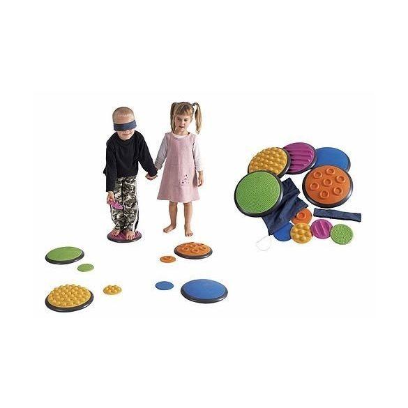 Gonge Érzékelő korongok 5+5 darabos szett, lépegető kő, tapintás érzékelő