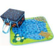 Akvárium játszószőnyeg halacskás- Gonge , játék hord-táskaként is használható