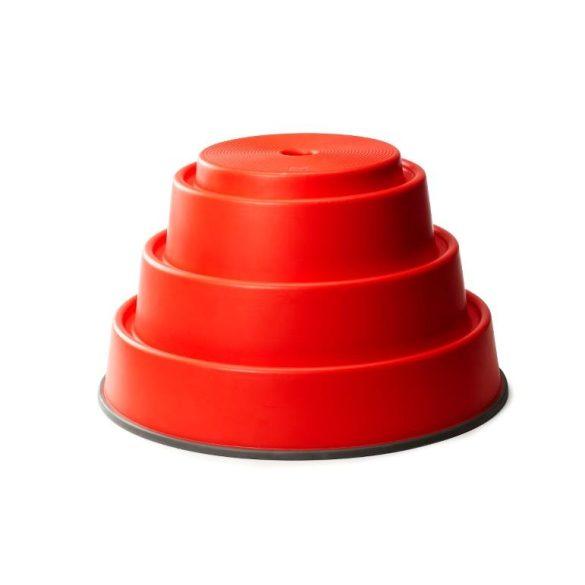 Gonge mozgásfejlesztő rendszerhez 1 db Kő 24cm magas elem, piros