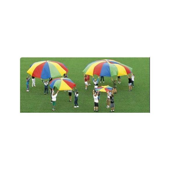 Csiribiri ejtőernyő 3,5 m , 8 füles óriás selyemkendő -