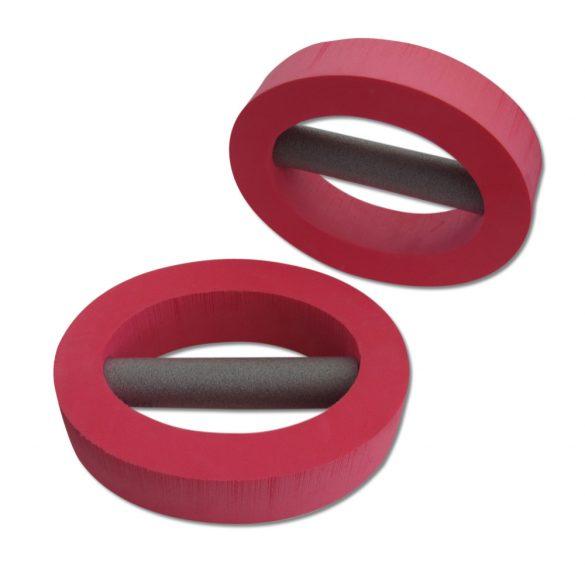 Ovális aquafitnesz vizisúlyzó pár ellipszis alakú 24x20x6 cm