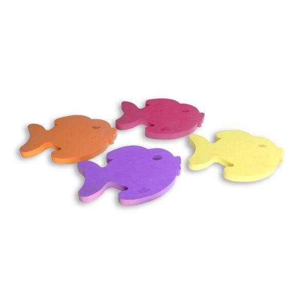 Vízi játék úszó halacskák 4db 28x23x3 cm Eva hab anyagból