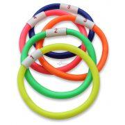 Számozott búvárgyűrű sorozat, 5 darabos