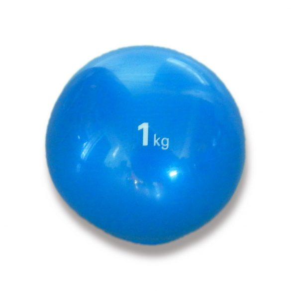 Tactic Sport medicinlabda szoft tapintással 1 kg, puha medicin labda , gumi medicin labda