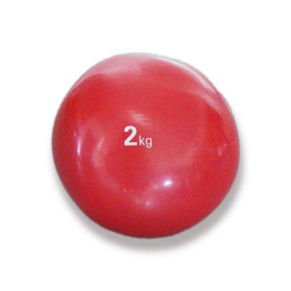Tactic Sport medicinlabda szoft tapintással 2 kg, puha medicinlabda , gumi medicin labda