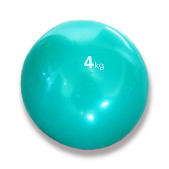 Tactic Sport medicinlabda szoft tapintással 4 kg, puha medicinlabda , gumi medicin labda